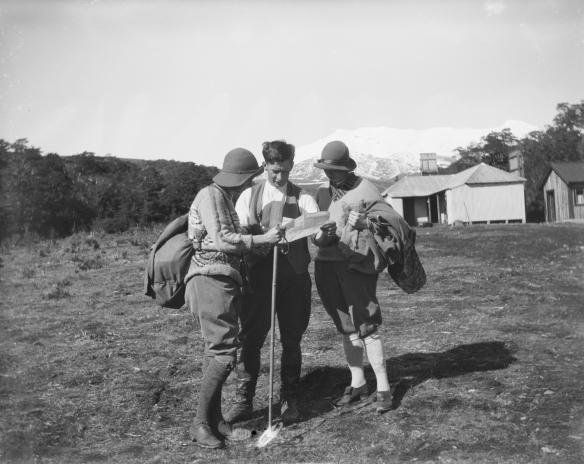 Leslie Adkin - Tongariro National Park, August 1925