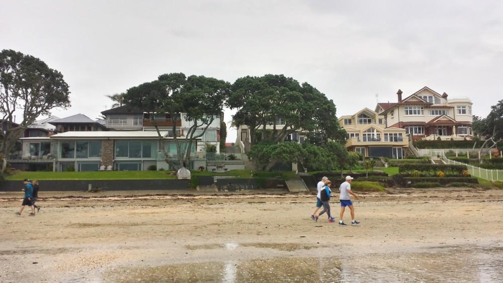 Beachfront homes Takapuna, North Shore