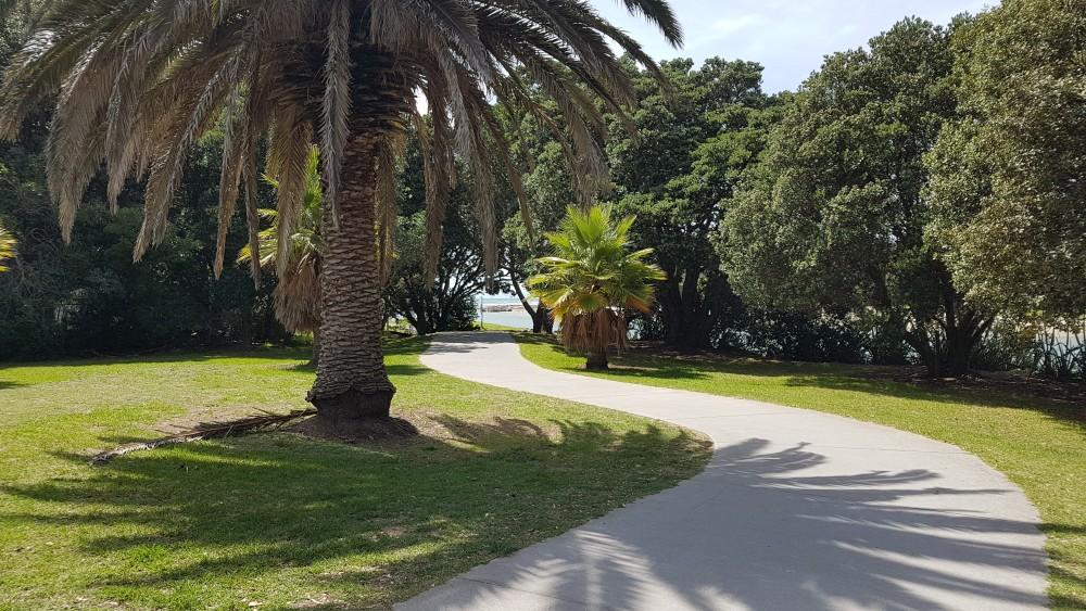 Path to Orewa Beach